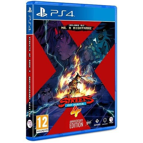 Streets Of Rage 4 Anniversary Edition PS4 Game